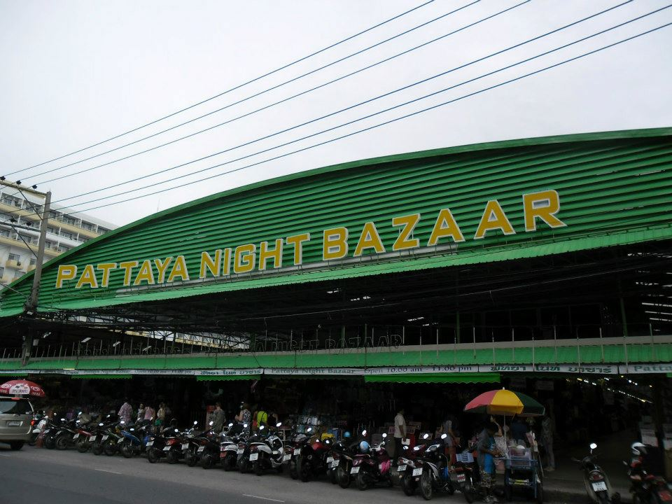 Market Bazaar in Pattaya Shopping